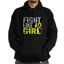 Fight Like a Girl 31.8 Sarcoma Hoodie