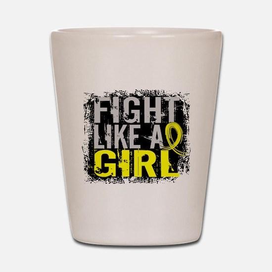 Fight Like a Girl 31.8 Sarcoma Shot Glass