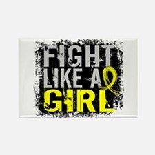 Fight Like a Girl 31.8 Sarcoma Rectangle Magnet