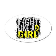 Fight Like a Girl 31.8 Sarcoma Wall Decal