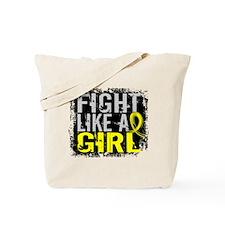 Fight Like a Girl 31.8 Sarcoma Tote Bag