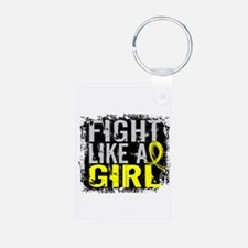 Fight Like a Girl 31.8 Sarcoma Keychains