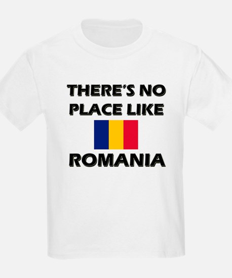 There Is No Place Like Romania Kids T-Shirt
