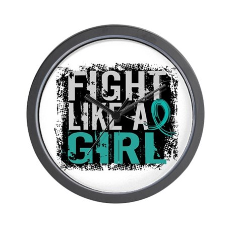 Fight Like a Girl 31.8 PKD Wall Clock