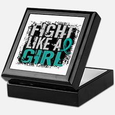 Fight Like a Girl 31.8 PKD Keepsake Box