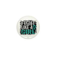 Fight Like a Girl 31.8 PKD Mini Button (10 pack)