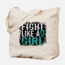 Fight Like a Girl 31.8 PKD Tote Bag