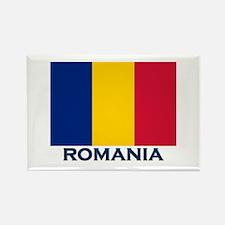 Romania Flag Merchandise Rectangle Magnet