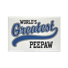 World's Greatest PeePaw Rectangle Magnet