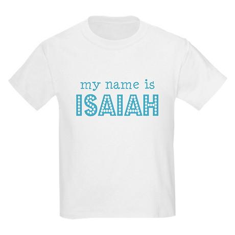 My name is Isaiah Kids T-Shirt