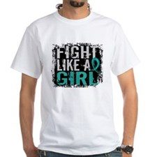 Licensed Fight Like A Girl 31.8 Ovar Shirt