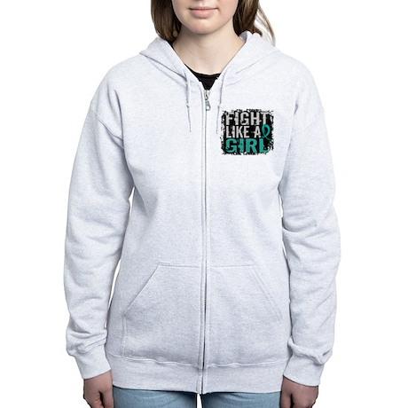 Licensed Fight Like A Girl 31.8 Women's Zip Hoodie
