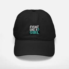 Licensed Fight Like A Girl 31.8 Ovarian Baseball Hat