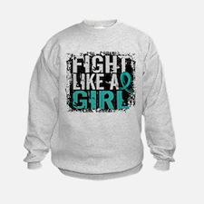Licensed Fight Like A Girl 31.8 Ov Sweatshirt