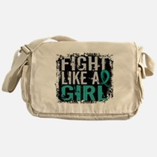 Licensed Fight Like A Girl 31.8 Ovar Messenger Bag