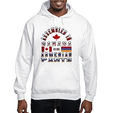 Armenian / Canadian Parts Hoodie