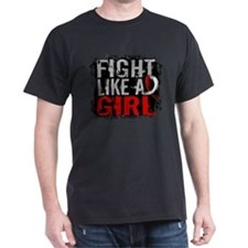 Fight Like a Girl 31.8 Oral Cancer T-Shirt