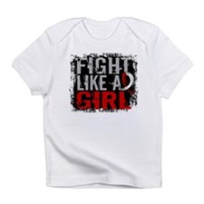 Fight Like a Girl 31.8 Oral Cancer Infant T-Shirt