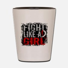 Fight Like a Girl 31.8 Oral Cancer Shot Glass