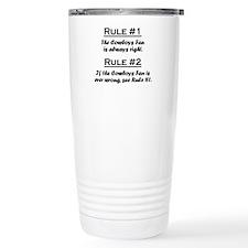 College basketball Travel Mug
