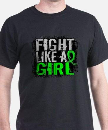 Licensed Fight Like a Girl 31.8 NH Ly T-Shirt
