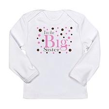 Im the Big Sister Dots Long Sleeve T-Shirt