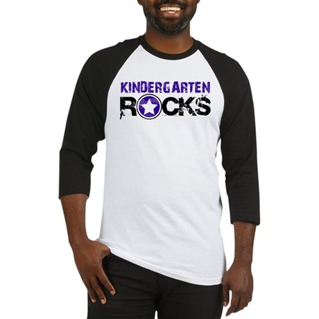Kindergarten Rocks Baseball Jersey