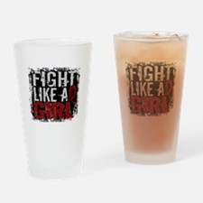 Licensed Fight Like a Girl 31.8 Mul Drinking Glass