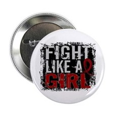 """Licensed Fight Like a Girl 31.8 Multi 2.25"""" Button"""