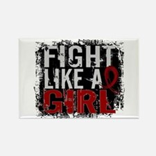 Licensed Fight Like a Girl 31.8 M Rectangle Magnet