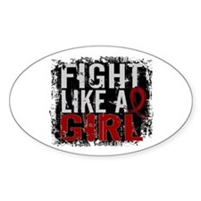 Licensed Fight Like a Girl 31.8 Mul Decal