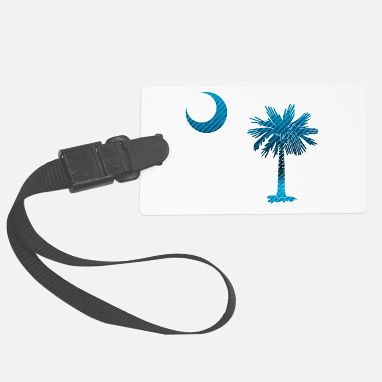Palmetto & Cresent Moon Luggage Tag
