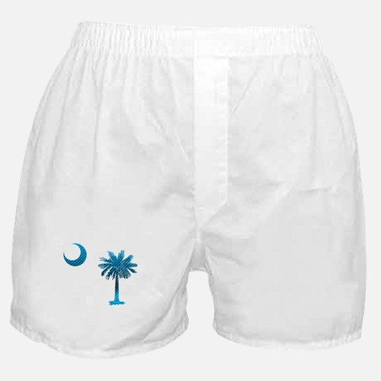 Palmetto & Cresent Moon Boxer Shorts