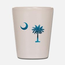Palmetto & Cresent Moon Shot Glass