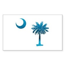 Palmetto & Cresent Moon Decal