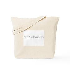 Acronyms Tote Bag