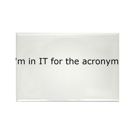 Acronyms Rectangle Magnet
