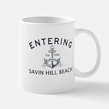 SAVIN HILL BEACH Mug