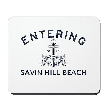 SAVIN HILL BEACH Mousepad