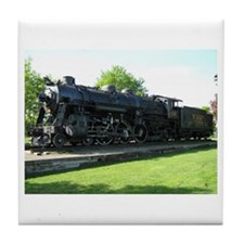 Central Maine Train Tile Coaster