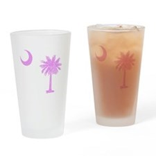 Palmetto & Cresent Moon Drinking Glass