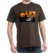 Lizard in Pumpkin Dark T-Shirt