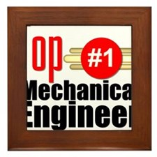 Top Mechanical Engineer Framed Tile