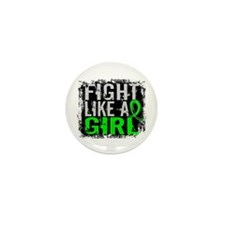 Fight Like a Girl 31.8 Lyme Disease Mini Button