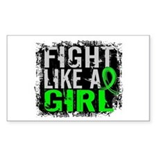 Fight Like a Girl 31.8 Lyme Disease Decal
