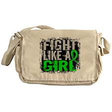 Licensed Fight Like a Girl 31.8 Lyme Messenger Bag