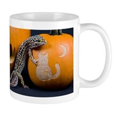 Lizard On Pumpkin Mug
