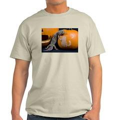 Lizard On Pumpkin T-Shirt