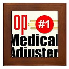Top Medical Adjuster Framed Tile