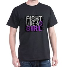 Licensed Fight Like a Girl 31.8 Lupus T-Shirt